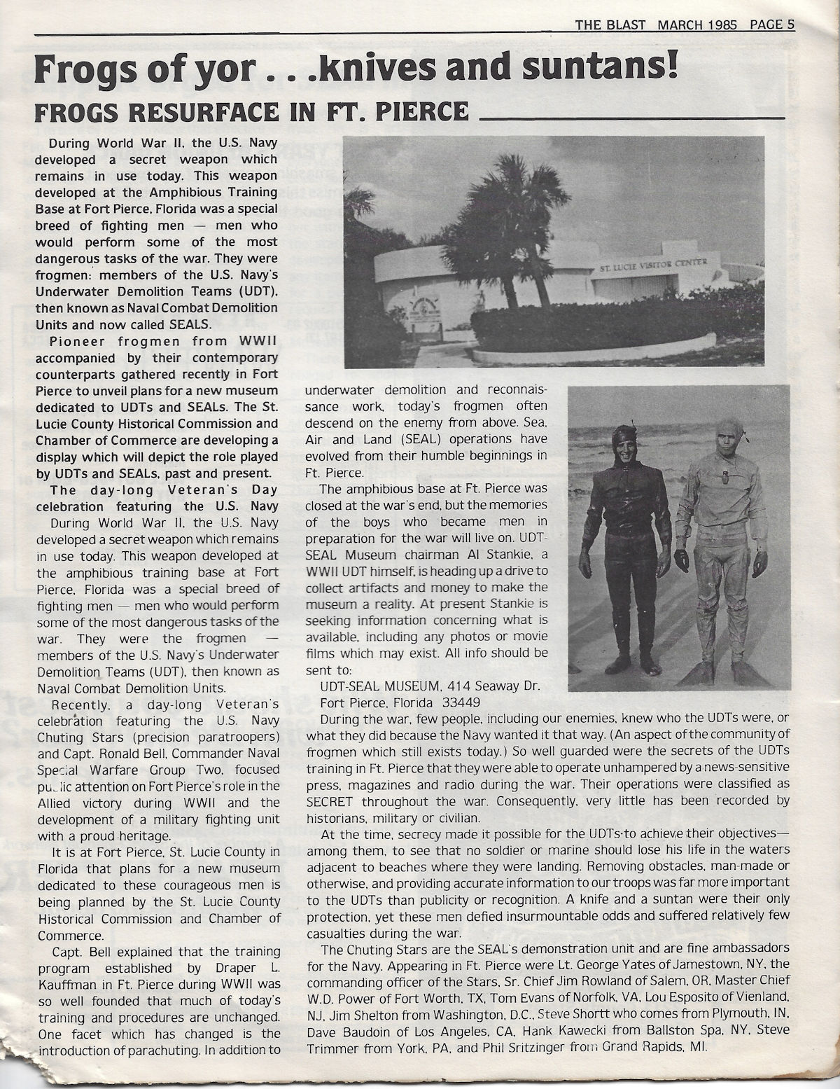 SEAL Team TWO page 19 photo album